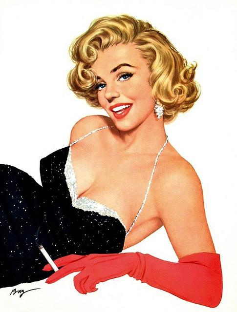 Pin up girls and pin up artists creare a vita for Retro italian xxx